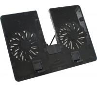 """Охлаждающая подставка для ноутбука, Deepcool, U PAL DP-N214A5_UPAL, 15.6"""", Вентилятор 2*14см, 1000±1"""
