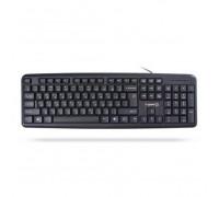 Клавиатура X-Game, XK-100UB, Ультратонкая, USB, Анг, Рус, Каз, Чёрный