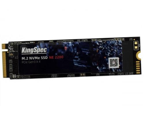 Винчестер SSD KingSpec, 256GB, M.2 PCI-E Gen3 NVMe NE-256 2280, R1800MB/s  W1100MB/s