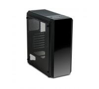 Корпус Delux, Atom, ATX, USB3.0*1, 2.0*2, HD-Audio+Mic, Высота процессорного кулера до 150мм, Сталь 0