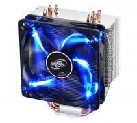 Теплоотвод Deepcool, GAMMAXX 400 Blue Basic DP-MCH4-GMX400P-BL, Intel 1200/115х и AMD AM4/AM3+/AM3/A