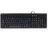 Клавиатура A4 Tech, KR-92, USB, Анг, Рус, Каз, Черный