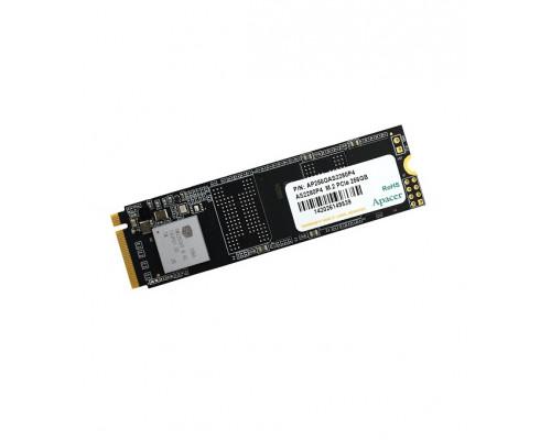 Винчестер SSD Apacer AS2280P4, 256Gb, NVMe M2, R1600 Mb/s, W1000 Mb/s, AP256GAS2280P4-1, PCIe 3.0 x2