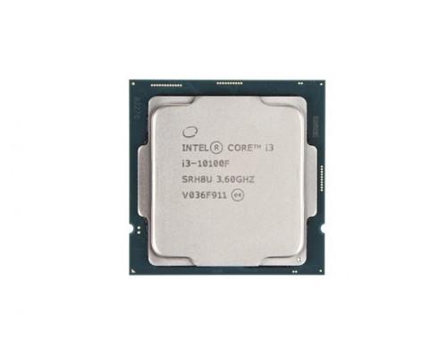 Процессор Intel Core i3-10100F, 3.6 Ghz, S-1200, L3 cache:6mb, Comet Lake, 14nm, 4 ядра, 65Вт, OEM