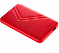 Внешний жесткий диск Apacer AC236 Panther, AP1TBAC236R-1, 1 Tb, USB 3.1, Красный
