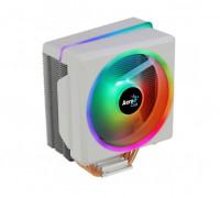 Теплоотвод Aerocool, Cylon 4F WH ARGB PWM 4P, Intel 2066, 2011, 115Х, 775 AMD AM4, AM3+, AM3, AM2+, AM2, FM2