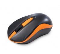 Мышь Delux, DLM-137OGB, 1000 dpi, Беспроводная, Оптическая светодиодная, Черный