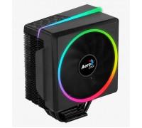 Теплоотвод Aerocool, Cylon 4 ARGB PWM 4P, Intel 2066, 2011, 115Х, 775 AMD AM4, AM3+, AM3, AM2+, AM2, FM2, FM1