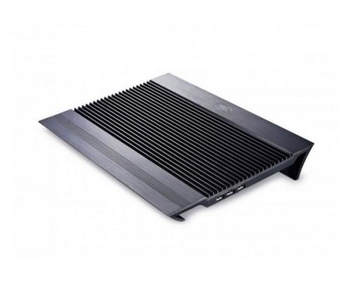 """Охлаждающая подставка для ноутбука, Deepcool, N8 Black DP-N24N-N8BK,  17"""", Вентилятор 2*18см, Регуля"""