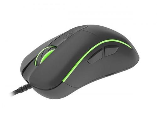 Мышь Genesis, Xenon 750, 10200 dpi, USB, 14 программируемых клавиш, RGB подсветка Черный