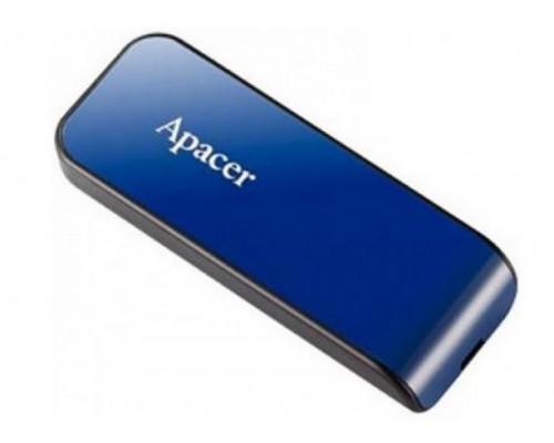 Уст-во хранения данных Apacer, AH334, 32Gb, USB 2.0, AP32GAH334U-1, Синий
