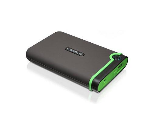 Внешний жесткий диск Transcend, StoreJet TS1TSJ25M3S, 1 Tb, USB 3.0, Черный