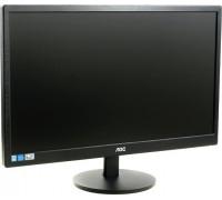 """Монитор AOC 21.5"""" E2270SWN, 01, (54cm), WLED,20000000:1,1920x1080(16:9),5ms,VGA,BLACK."""