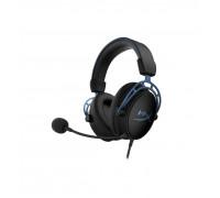 Наушники Kingston HyperX Cloud Alpha S HX-HSCAS-BL, WW, Игровая гарнитура, Микрофон съёмный гибкий, Д