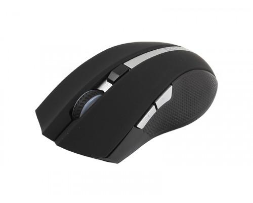Мышь Delux, DLM-516OGB, 3D, 1600 dpi, Беспроводная, Оптическая, Черный