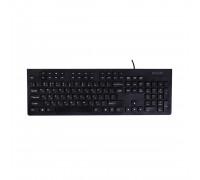 Клавиатура Delux, DLK-180UB, USB, Мультимедийная, Анг, Рус, Каз, Черный