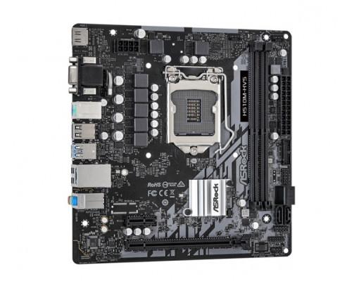 Мат. плата Asrock H510M-HVS, S-1200, Intel H510, 2 DDR4, 4 SATA3, 10 USB, HDMI, D-Sub, 1xPCI-E x16, 1xPCI-