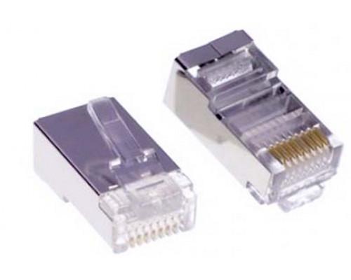 """Коннектор обжимной для """"витой пары"""" SHIP, S901B, RJ-45, FTP"""