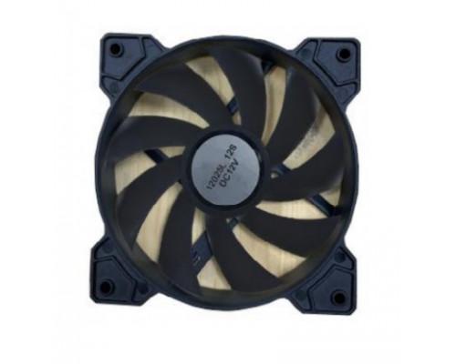 Вентилятор Wintek M1-12BL, 120mm, 1100rpm, Black, 3p+4pin