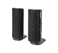 Акустическая система Defender, SPK-210, 2.0, Стерео, 4W, Пластик, питание от 220В, Черный