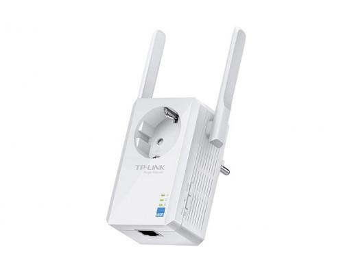 Точка доступа TP-Link, TL-WA860RE, 300 Мбит, с , Ethernet RJ45, Wi-Fi, частота 2.4ГГц, WEP, WPA, WPA2,