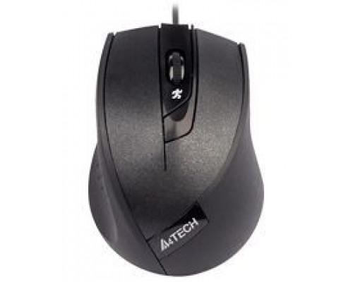 Мышь A4 Tech, N-600X V-Track, 1600 dpi, USB, Оптическая, Черный