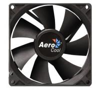 Вентилятор AeroCool, Force 9 Black Molex + 3P, 90mm, 1200 об/мин, 1,8 Вт, Чёрный