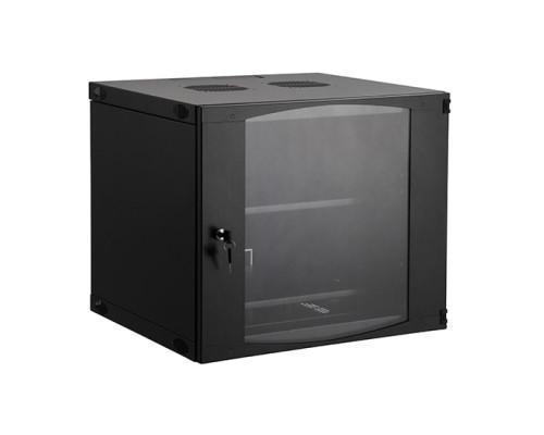 Шкаф настенный, SHIP, EW серия, EW5409.100, 19'' 9U, 540*450*460 мм, Ш*Г*В, IP20, Чёрный