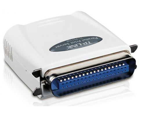 Принт сервер, TP-Link TL-PS110P, Параллельный порт, порт Fast Ethernet с разъёмом RJ-45, TCP, IP,(Rem