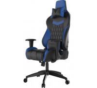 Игровое компьютерное кресло Gamdias Achilles E2-L-BB, искусственная кожа, подушка для головы и поясн