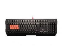 Клавиатура A4 Tech, Bloody, B188, USB, 8-механических кнопок с оптическими переключателями, Анг, Рус,