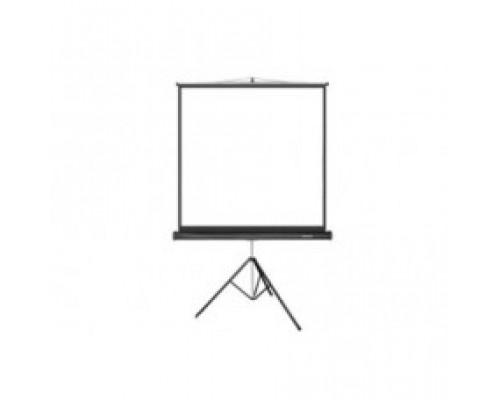 Проекционный экран  Deluxe, на штативе, DLS-T203xW, 203x203, Matt white, Чёрный