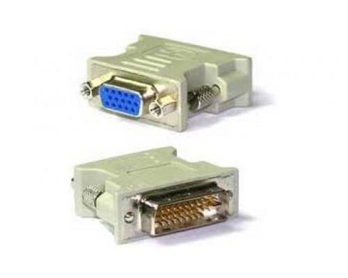 Переходник VGA (D-Sub) на DVI 24+5, (Маленький пластиковый адаптер)