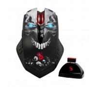 Мышь A4 Tech, Bloody R80 Wireless Gaming Mouse Gun3 <4000 dpi, 2.41M pixels, sec, 125~500Hz, sec, 600