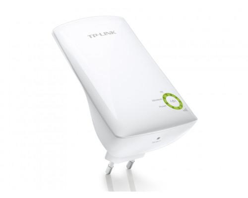 Точка доступа TP-Link, TL-WA854RE, 300 Мбит, с, Ethernet RJ45, Wi-Fi, частота 2.4ГГц, WEP, WPA, WPA2,