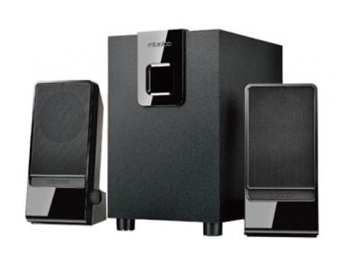 Акустическая система Microlab, M-100, 2.1, Стерео, 10W, МДФ/Пластик, питание от 220В, Черный