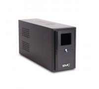 ИБП SVC, V-650-L-LCD, 650VA, 390W, Диапазон работы AVR: 165-275В, AVR в режиме Booster: 138-292В, Бат
