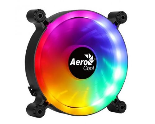 Вентилятор AeroCool, Spectro 12 FRGB Molex, 120mm FRGB, 1000 об/мин, 3,6 Вт, Чёрный