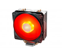 Теплоотвод Deepcool, GAMMAXX 400 V2 RED DP-MCH4-GMX400V2-RD, Intel 1366, 1200, 115х и AMD AM4, AM3+, AM3