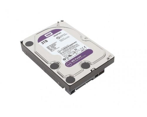 "Винчестер Western Digital, 3 Tb, WD30PURZ Purple, 64 Mb, SATA 6Gb, s, IntelliPower, 3.5"""