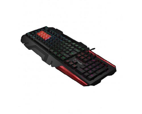 Клавиатура A4 Tech, Bloody, B3590R, USB, 8-механических кнопок с оптическими переключателями, Анг/Ру