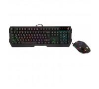Клавиатура + Мышь A-4 Tech Bloody Q1300 USB Fast Gaming Keyboard + Gaming Mouse LED-подсветка по бок
