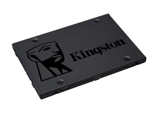 "Винчестер SSD Kingston, 480 Gb, A400 SA400S37/480G, SATA 3.0, R500Mb/s, W500MB/s, 2.5"""