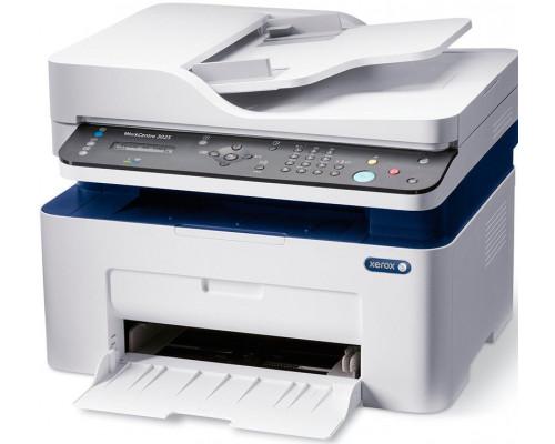 МФУ Xerox WorkCentre 3025NI, A4, Лазерное, 20 стр, мин, P, C, S, F, Нагрузка (max) 15K в месяц, 40-sheet