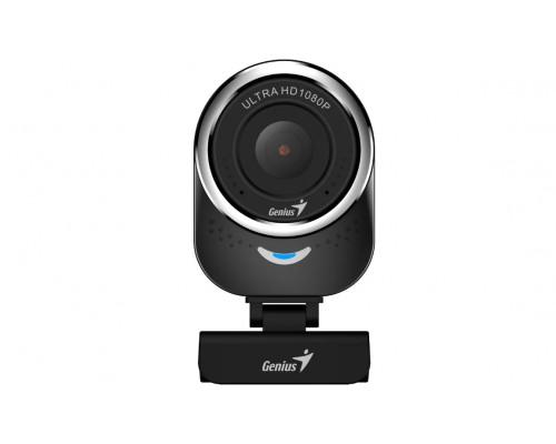 Веб Камера Genius, QCam 6000, USB 2.0, Микр, видео1920x1080, фото1920x1080, 2мпикс, Черный