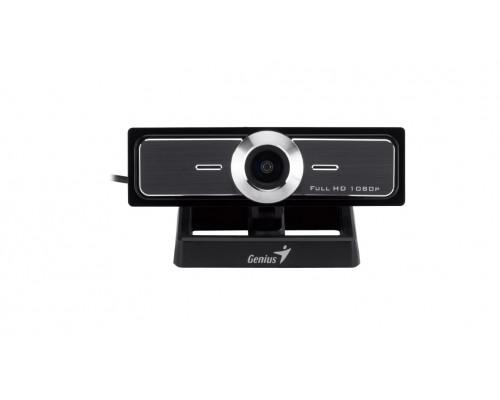 Веб Камера Genius, WideCam F100, USB 2.0, Микр, видео1920x1080, фото1920x1080, 2мпикс, Черная