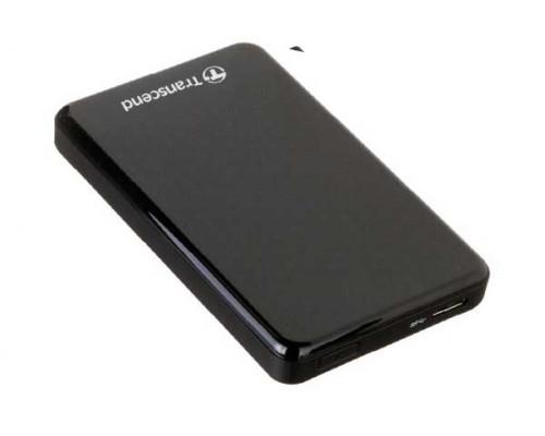 Внешний жесткий диск Transcend, StoreJet TS1TSJ25A3K, 1 Tb, USB 3.0, Черный
