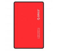 Мобильный кейс-Mobile Rack ORICO 2588US3-V1-RD-EP USB 3.0, SATA II кабель 60 см Red
