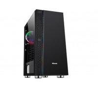 Корпус Wintek Dream K209 TG, ATX/Micro ATX, USB 1*3.0/2*2.0/Без БП/HD-Audio+Mic, 0,55 mm, RGB strip