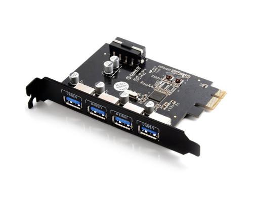Контроллер Orico, PVU3-4P-V1, PCI-E на USB 3.0 x 4 порта